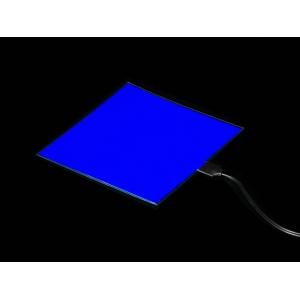 Elektroluminestsents paneel, sinine, 10 x 10cm
