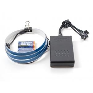 Elektroluminestsents riba stardikomplekt, sinine, 1m