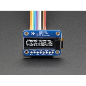 OLED displei 0.91´´ 128x32, SPI, SSD1306 kontroller