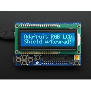 Arduino LCD 16x2 RGB maartiksdisplei, hele kiri, tume taust