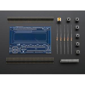 Arduino LCD 16x2 nuppudega displei detailide komplekt
