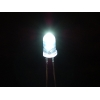 LED 5mm, valge, super kirgas