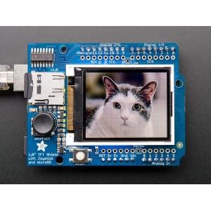 TFT 1.8´´ 128x160 displei Joystick´i ja MicroSD kaardi lugejaga