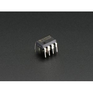 TLV2462 - 2-kan. op-võimendi, 2.7-6V, DIP-8