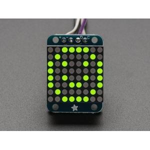 LED maatriks 8x8, 20mm, I2C draiveriga, kollakas-roheline