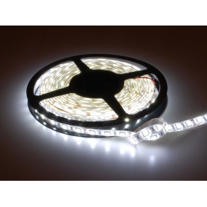LED riba, külm valge, 60 LED/m, 12V, ilmastikukindel, 1m
