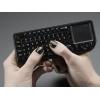 Mini klaviatuur puuteplaadiga, juhtmevaba