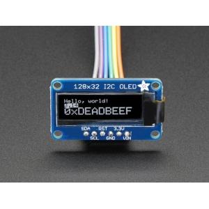 OLED displei 0.91´´ 128x32, I2C, SSD1306 kontroller