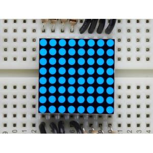 LED maatriks 8x8, 20mm, sinine