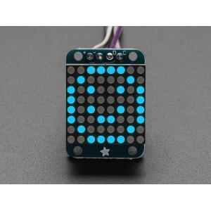 LED maatriks 8x8, 20mm, I2C draiveriga, sinine