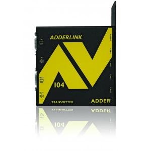 Audio / Video pikendaja kuni 300m läbi CATx (4 VGA + audio, saatja)