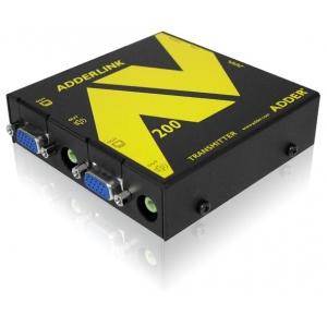 VGA pikendaja kuni 300m läbi CATx (1 VGA + audio + RS-232, saatja)