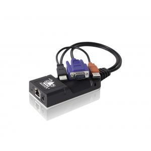 KVMi pikendaja läbi CATx kuni 100m, RJ45, VGA, USB (ALIF1002)