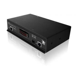 KVMi pikendaja läbi CATx kuni 100m,läbi fiibri kuni 10km (2xDVI-I, 4x USB 2.0, 3.5mm, 1x RS232, 1x SFP) (vastuvõtja)