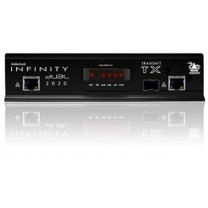 KVMi pikendaja läbi CATx kuni 100m,läbi fiibri kuni 10km (2xDVI-I, 1x USB 2.0, 3.5mm, 1x RS232, 1x SFP) (saatja)