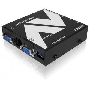 VGA pikendaja läbi CATx kuni 150m, Full HD tugi, 2xVGA, 4xRJ45, saatja