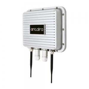 Tööstuslik väline IP67 IEEE 802.11a/b/g/n/ac Dual Radio Wireless AP/Client/Bridge/Repeater koos PoE PD, metallist korpus, -40 kuni 75°C