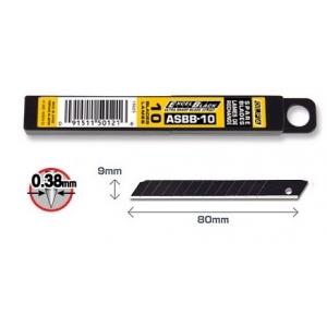 OLFA ASBB-10 Tagavaraterad ASBB-10, eriti terav, pakis 10tk (9mm)