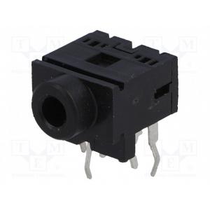 Stereo 3.5mm pesa plaadile, lülitiga,  ASJ-6-5