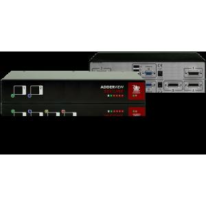 KVM switch 2-porti, tõstetud turvalisusega, USB, VGA ja kaardilugejaga EAL4+, Tempest