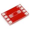 SparkFun 8-pin SSOP - DIP adapterplaat