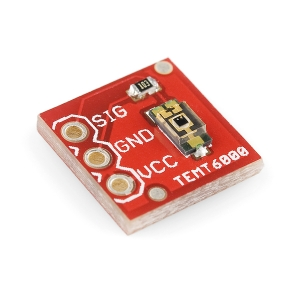 TEMT6000 - fototransistor valgusandur, max 5V