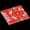 Trükkplaat LED valgusega mikrolülitile