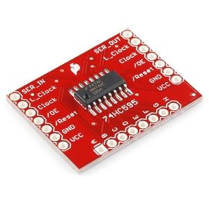 SparkFun 74HC595 - 8-bit serial nihkeregister