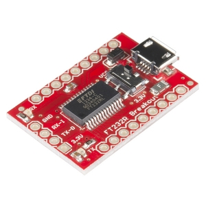 USB - UART serial konverter (FT232RL)