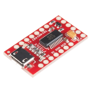 USB - UART serial konverter (FT231X)