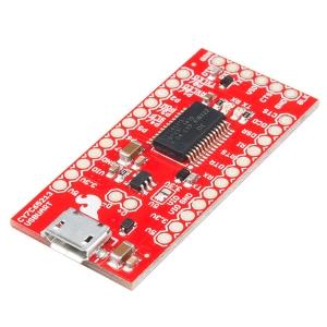 CY7C65213 - USB UART serial adapter