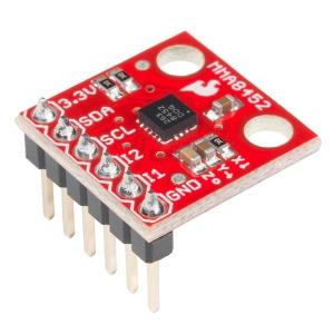 MMA8452Q - 3 teljeline 12-bit kiirendusandur, 2/4/8g, 1.9-3.6V, konnektoriga