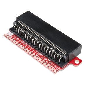 micro:bit 2x40 pin konnektor trükkplaadil