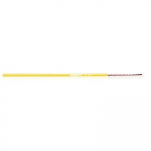 Montaažijuhe 0,22mm², kollane, pehme, PVC, 200m/rull