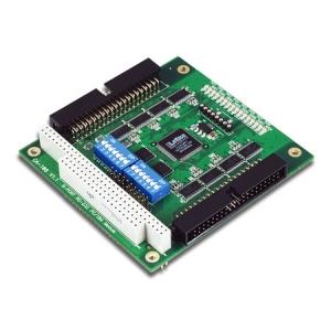 RS-232 PC/104 moodul, -40 kuni 85°, 8 porti