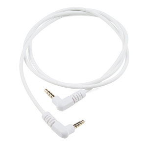 Audio kaabel, 3.5mm TRRS plug, 90cm