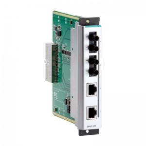 Moodul EDS-600 seeria switchidele: 2 x 10/100BaseT(X), 2 x 100BaseFX multi-mode (ST), -40 kuni 75˚C