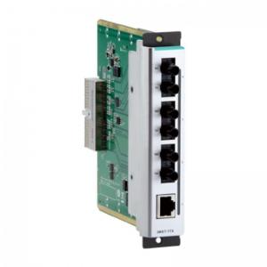 Moodul EDS-600 seeria switchidele: 1 x 10/100BaseT(X), 3 x 100BaseFX multi-mode (ST), -40 kuni 75˚C