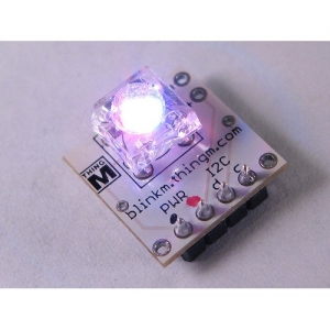 BlinkM - I2C kontrolleriga RGB LED moodul