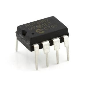 MCP3002 - 10-bit AD muundur, DIP-8