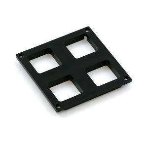 Maatriksklaviatuuri ülemine raam, 2 x 2 nuppu