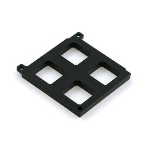 Maatriksklaviatuuri alumine raam, 2 x 2 nuppu