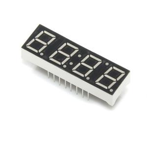 7-segment LED displei, 4 kohta, 10mm, kollane