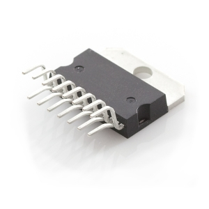 STA540 - 4 x 13W Class AB audio võimendi, Multiwatt-15