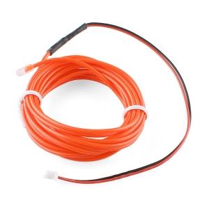 Elektroluminestsents kaabel, punane, 3m