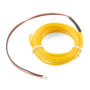 Elektroluminestsents kaabel, kollane, 3m