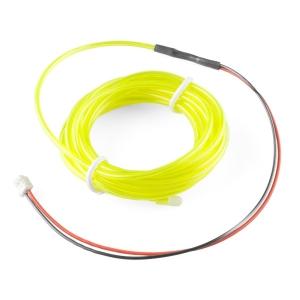 Elektroluminestsents kaabel, fluorestseeriv roheline, 3m
