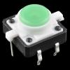Mikrolüliti trükkplaadile, LED valgusega, roheline