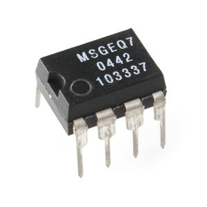 MSGEQ7 - graafilise ekvalaiseri displei filter, DIP-8