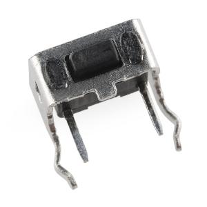 Mikrolüliti trükkplaadile, 6 x 3mm, horisontaalne